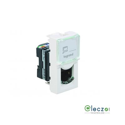 Legrand Arteor Information Socket (Square) 1 Module, White, RJ 45 (Cat 5)