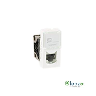 Legrand Arteor Information Socket (Square) 1 Module, White, RJ 45 (Cat 6)
