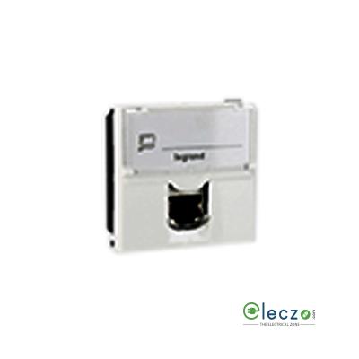 Legrand Arteor Information Socket (Square) 2 Module, White, RJ 45 (Cat 6)