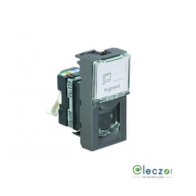 Legrand Arteor Information Socket (Square) 1 Module, Magnesium, RJ 45 (Cat 5)