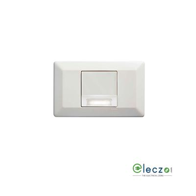 Legrand Arteor White Miniature Emergency Skirting Light, 2 Module, White-LED