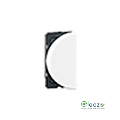 Legrand Arteor SP Switch (Round) 6 A, White, 1 Module, 1 Way - Left