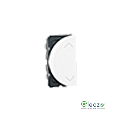Legrand Arteor SP Switch (Round) 6 A, White, 1 Module, 2 Way - Left