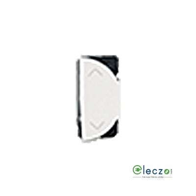 Legrand Arteor SP Switch (Round) 6 A, White, 1 Module, 2 Way - Right