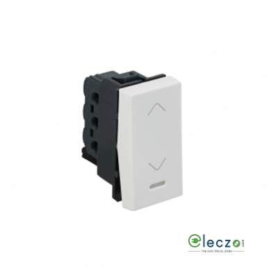 Legrand Arteor SP Switch (Square) 6 A, White, 1 Module, 2 Way, With Indicator