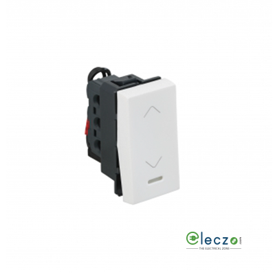 Legrand Arteor SP Switch (Square) 20 A, White, 1 Module, 2 Way, With Indicator