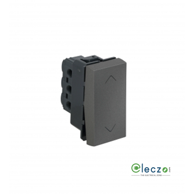 Legrand Arteor SP Switch (Square) 6 A, Magnesium, 1 Module, 2 Way