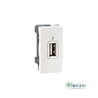 Legrand Arteor USB Audio Video Socket (Square) White