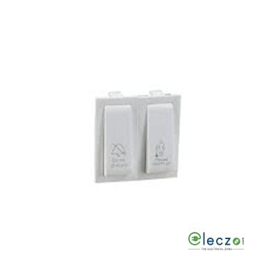 Legrand Britzy 2 Module White DND Internal Control Unit