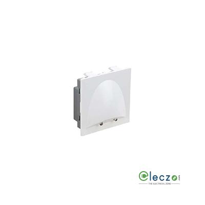 Legrand Britzy Skirting Light 2 Module, White