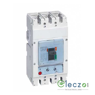 Legrand DPX3 630 MCCB 320 A, 3 Pole, 36 kA, O/L & S/C, Electronic Release Trip Unit S2 With Energy Metering Central Unit