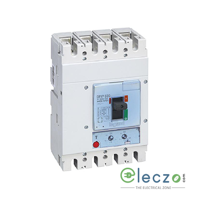 Legrand DPX3 630 MCCB 320 A, 4 Pole, 36 kA, O/L & S/C, Electronic Release Trip Unit S2 With Energy Metering Central Unit