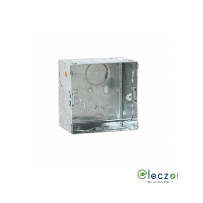 Legrand Flush Metal Box 1 Or 2 Module, Suitable For Arteor/Mylinc/Myrius