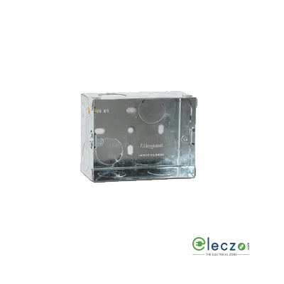 Legrand Flush Metal Box 3 Module, Suitable For Arteor/Mylinc/Myrius