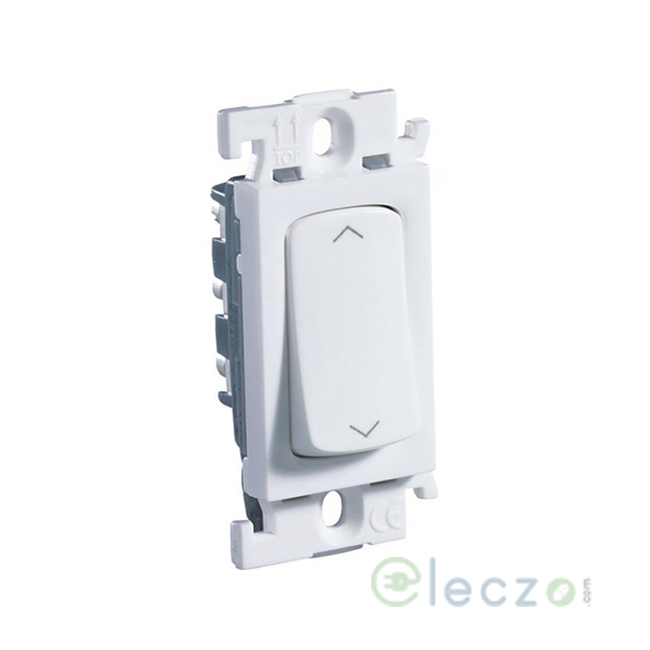 Legrand Mylinc White SP Switch 6 A, 1 Module, 2 Way