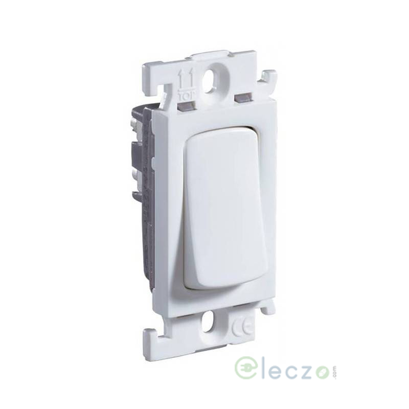 Legrand Mylinc SP Switch 16 A, White, 1 Module, 1 Way