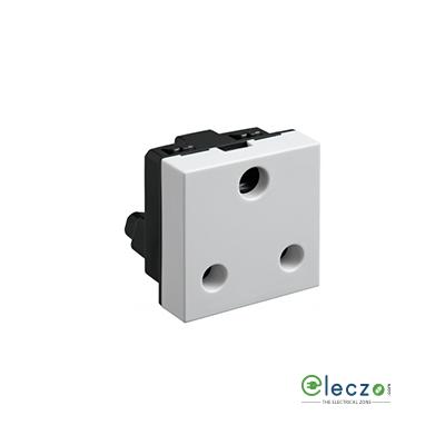 Legrand Myrius 3 Pin Socket 25 A, 2 Module, White