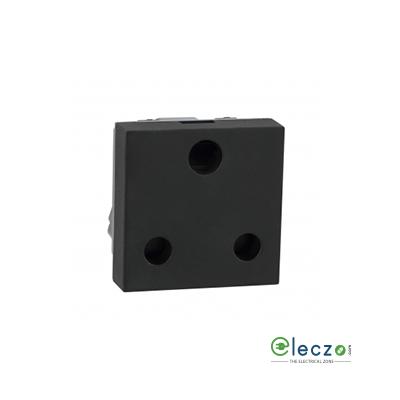 Legrand Myrius 3 Pin Socket 25 A, 2 Module, Black