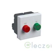 Legrand Myrius Motor Starter Switch 110/220 V AC (1 Phase), White, 2 Module, 16 A