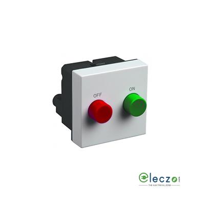 Legrand Myrius Motor Starter Switch 380/440 V AC (3 Phase), White, 2 Module, 25 A