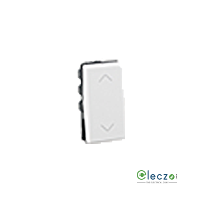 Legrand Myrius Switch 6 A, White, 1 Module, 2 Way