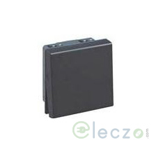 Legrand Myrius Switch 10 A, Black, 2 Module, 1 Way