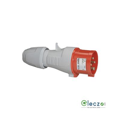 Legrand P17 Tempra Pro Straight Plug 16 A, 2 Pole+E, IP 44, 200/250 V AC