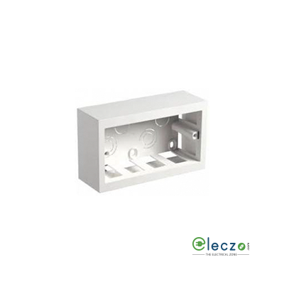 Legrand PVC Surface Box 4 Module, Suitable For Mylinc/Myrius