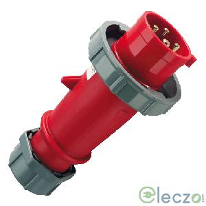 Mennekes CEE Plug 16 A, 2 Pole+E, IP 67, 230 V