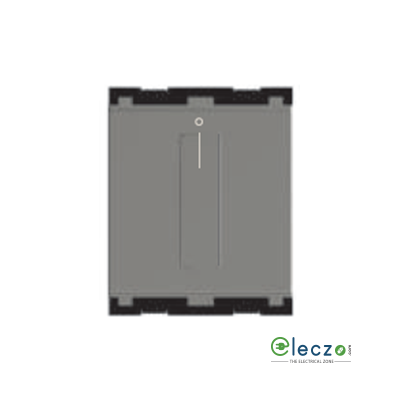 Norisys Cube Series Fan Regulator 80 W, 2 Module, Quartz Grey, Step