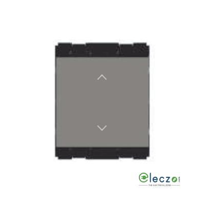 Norisys Cube Series SP Palm Switch 6 A, Quartz Grey, 2 Module, 2 Way