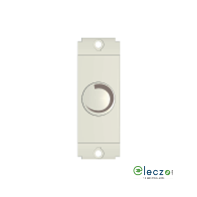 Norisys Square Series Special Dimmer For LED Lights 1 Module, Frost White