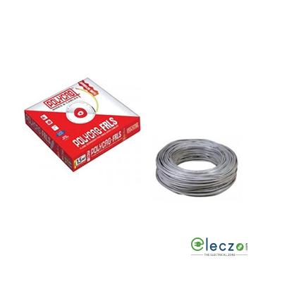 Polycab 0.5 Sq.mm, Single Core Copper Flexible Cable, Grey, PVC FRLS (Flame Retardant Low Smoke)