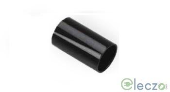 Precision PVC Coupler 20 mm, Black