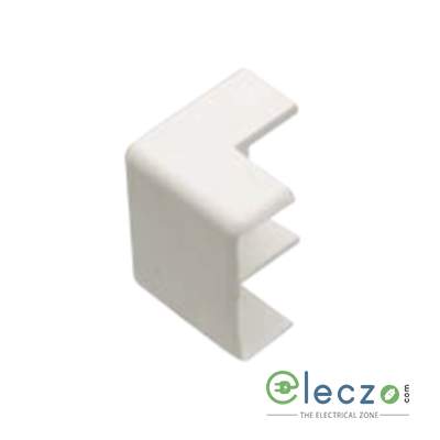 Precision UPVC External Bend 16 x 16 mm, Ivory