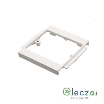 Precision UPVC Socket Mounting Frame 1 GANG, Ivory