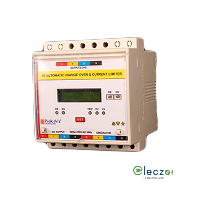 Prok dv's Microcontroller Based ACCL/ASCL With LCD Display EB : 3P, 80 A, DG : 3P, 1-80 A