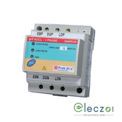 Prok dv's Microcontroller Based ACCL/ASCL EB : SP, 30 A, DG : SP, 1-10 A