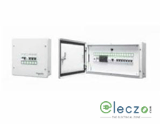Schneider Electric Acti 9 Distribution Board 6 Way, 6 Module, SPN, Single Door, IP 30
