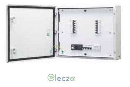 Schneider Electric Acti 9 Distribution Board 12 Way, 8 IC + 36 OG Module, VTPN, Double Door - Metal, IP 43