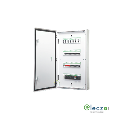 Schneider Electric Acti 9 Flexi Tier Distribution Board 4 Tier 40 Module, 4 IC + 10 OG, Single Door, IP 30