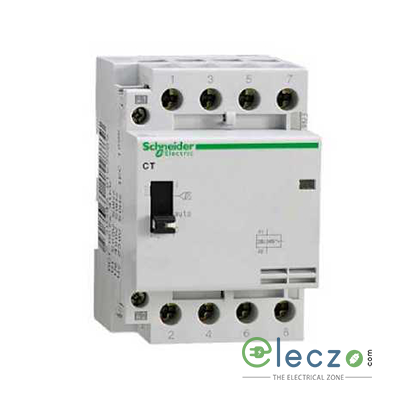 Schneider Electric CT Contactor 63 A, 3 Pole, 3 NO