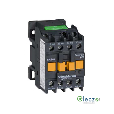 Schneider Electric EasyPact TVS Auxiliary Contactor ETVS 4 NO, 240 V AC