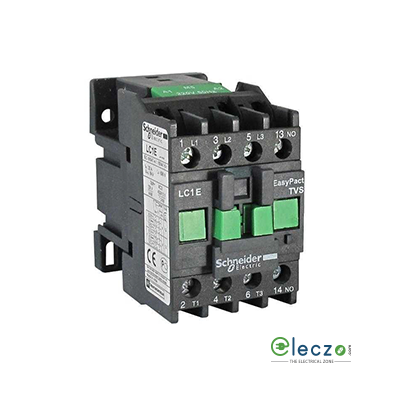 Schneider Electric EasyPact TVS Power Contactor 9 A, 3 Pole, 240 V AC, 1 NC, AC3 Duty