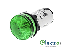 Schneider Electric Harmony XB7 Pilot Light Green, 230 V, Direct Integral LED