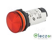 Schneider Electric Harmony XB7 Pilot Light Red, 120 V, Direct Integral LED