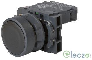 Schneider Electric Harmony XB5 Push Button Black, Flush Type
