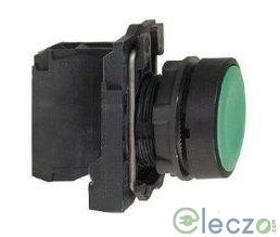 Schneider Electric Harmony XB5 Push Button Green, Projecting Type