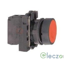Schneider Electric Harmony XB5 Push Button Red, Projecting Type