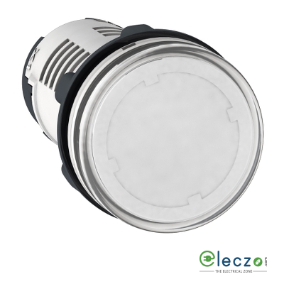 Schneider Electric Harmony XB7 Pilot Light Clear, 120 V, Direct Integral LED
